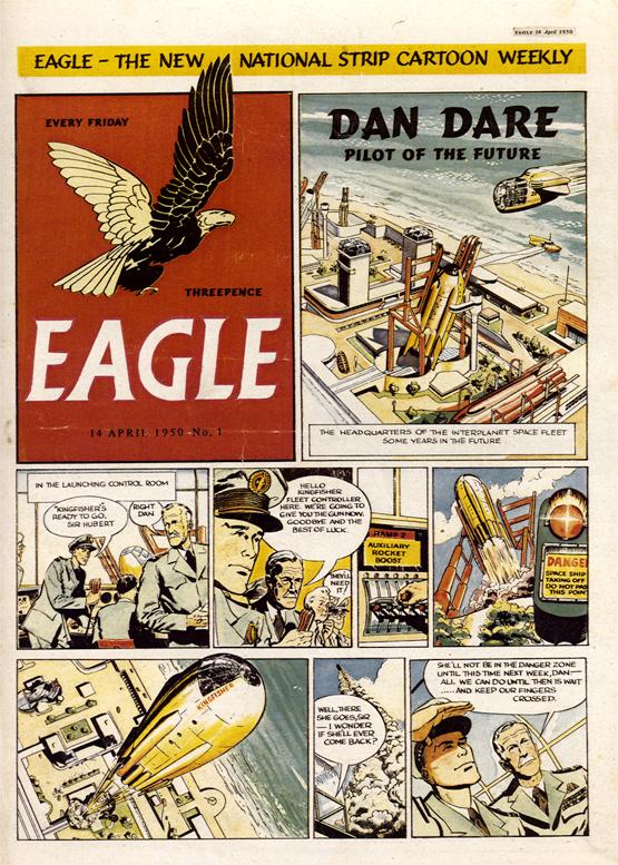 Eagle comic cover