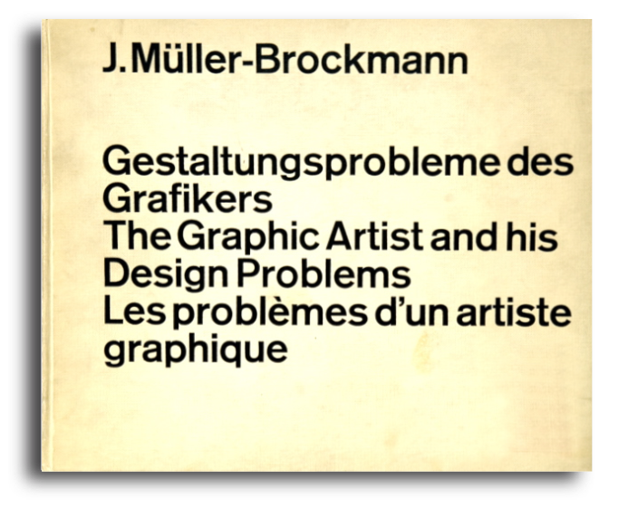 Cover of book by Josef Müller-Brockmann