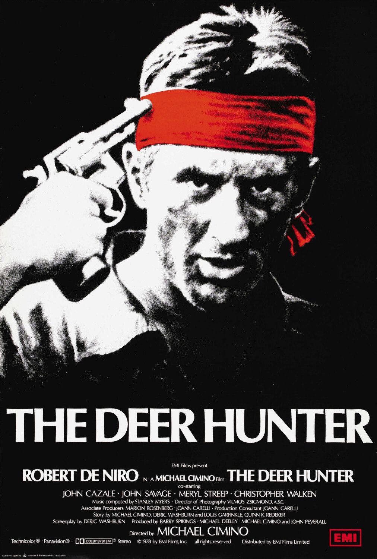deer hunter poster