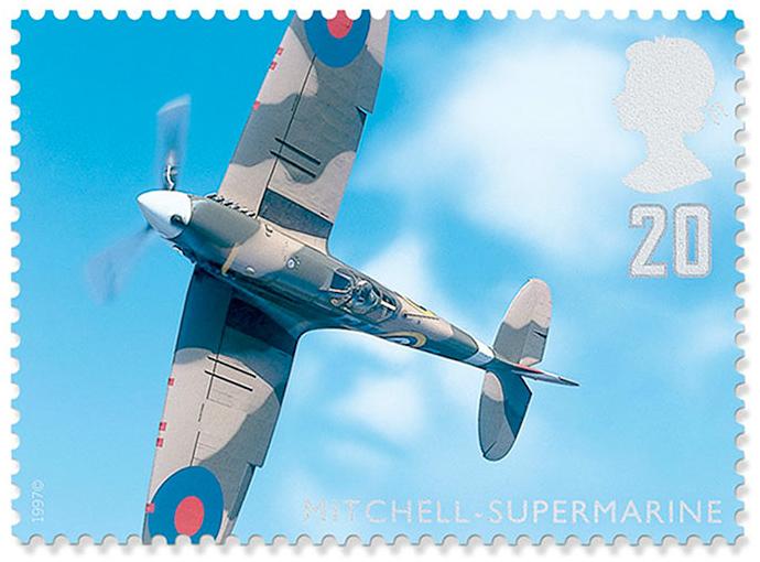 spitfire stamp